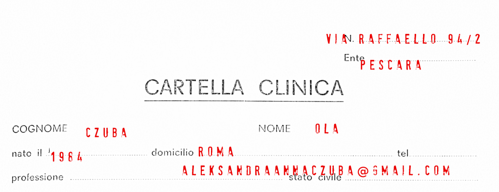 cartella clinica top ola